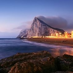 The Rock of Gibraltar. My husband wanted to go there multiple times. I'm glad he took me. So beautiful!