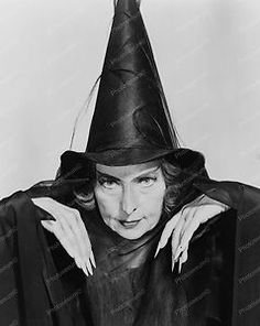 """Agnes Moorehead Vintage """"Witch"""""""