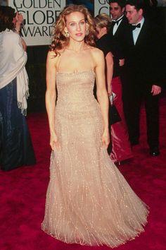 Sarah Jessica Parker - 60 Best Golden Globes Dresses of All Time - Richard Tyler