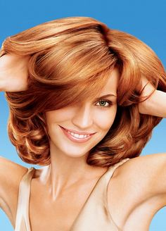 hairstyles with red brown and blonde together - Google Search