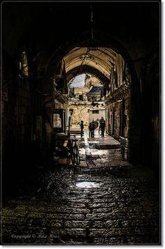 Alley . Israel