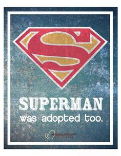 Even the people we look up to. #nuffsaid #Adoption