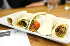 Best Duck Shawarma I've ever had. MoMed, Beverly Hills