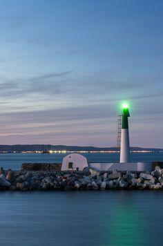 Green Lantern - Port-la-Nouvelle, Languedoc-Roussillon༺ ♠ ŦƶȠ ♠ ༻ Lake Geneva, Windmills, Sardinia, Albania, Montenegro, Crete, Seas, Night Time, Croatia
