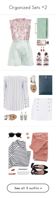 """""""Organized Sets #2"""" by kearalachelle ❤ liked on Polyvore featuring LUISA BECCARIA, Hutch, Michael Antonio, M2Malletier, Cathy Waterman, STELLA McCARTNEY, Pierre Balmain, Office, Aspinal of London and 1928"""