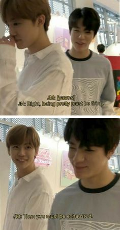 ╻there is this one cat who keeps on bothering him╹ ❀ jaeno / nomin ❀ chogiwanese Taeyong, Jaehyun, Polyamorous Relationship, Nct Dream Jaemin, All Meme, Nct Life, Jeno Nct, Funny Kpop Memes, Na Jaemin