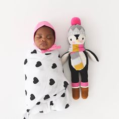 Baby swaddle & toy - cuddle+kind (@cuddleandkind) on Instagram