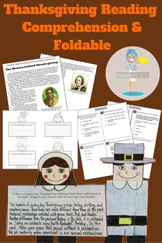 "GRADES 6-8 - We've put a twist on reading comprehension practice by incorporating a foldable craft.....the perfect brain break after the hard work is done! The students will be required to do a ""close read"" of the informational text entitled ""The History"