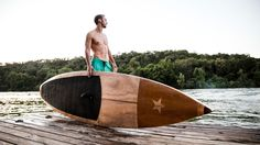 ** JARVIS BOARDS ** The Austin-based company Jarvis is famed for their beautiful authentic wooden paddle boards. Jarvis Boards ($1875+) are designed and constructed to en...