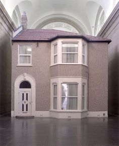 Michael Landy has created Semi-detached, an ambitious new installation for Tate Britain's Duveen Galleries Institutional Critique, Tate Britain, Social Art, Installation Art, Art Installations, Semi Detached, Detached House, Consumerism, Little Houses