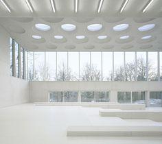 The Forum at Eckenberg Gymnasium by Ecker Architekten #architecture