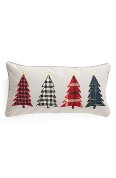 Free shipping and returns on Levtex Tree Appliqué Accent Pillow at Nordstrom.com. Plaid flannel tree appliqués lend country-Christmas charm to a cheery accent pillow cut from sturdy cotton canvas.