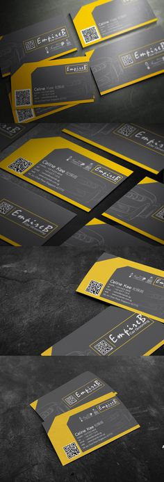 EmpireB car Grooming business card design by Lemongraphic , via Behance