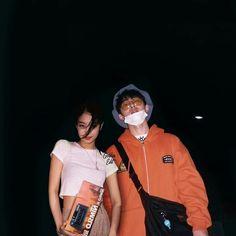 Image may contain: 2 people Swag Couples, Kpop Couples, Cute Couples, Blackpink Photos, Edit Photos, Winner Ikon, Korean Products, Lucas Nct, Kim Hanbin