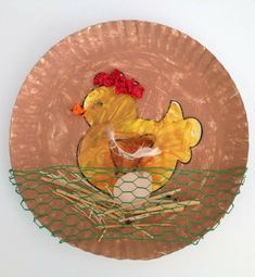 Knutsel: Kip legt een ei