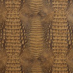 G035, Crocodile Faux Leather Upholstery Vinyl By The Yard