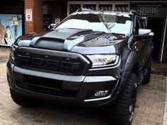 nice raptor look Ford Ranger                                                                                                                                                     More