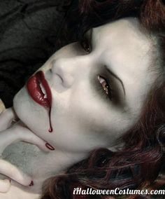 vampire makeup - Halloween Costumes 2013