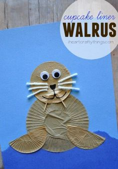 Best Projects for Kids Get creative by using these attractive and super quick inspired crafts for kids! Kids Crafts, Daycare Crafts, Summer Crafts, Toddler Crafts, Arts And Crafts, Projects For Kids, Kids Diy, Seal Crafts For Kids, Art Projects