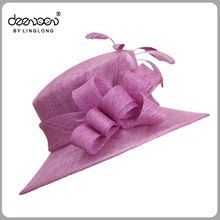Sinamay Hat, Sinamay Hat direct from Shenzhen Linglong Accessories Co., Ltd. in China (Mainland)