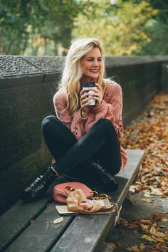Sad to Leaf NYC - Barefoot Blonde by Amber Fillerup Clark Fall memories in New York City. Barefoot B