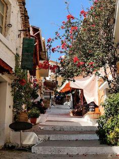 Walk in the town, Parga Greece