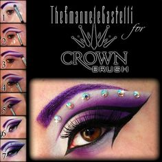 Look+in+collab+with+Crown+Brush