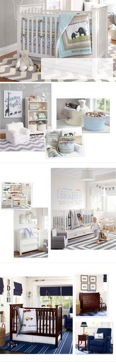 Baby Boy Nursery Ideas & Nursery Ideas for Boys | Pottery Barn Kids - writing on wall