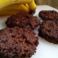 Galletas proteicas y sin gluten de plátano, chocolate y coco
