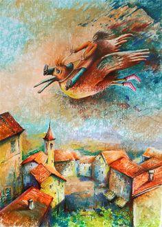 rysunek wykonany pastelami Painting, Art, Art Background, Painting Art, Kunst, Paintings, Performing Arts, Painted Canvas, Drawings