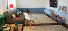 Uma nova sala... poucas mudanças.