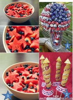 july 4 food1 July 4th Party Ideas: Celebrate in Style!