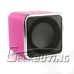 """$13.19 MD-08 Music Angel Mini Speaker with 1.77"""" Screen Supported Micro SD Card up to 8GB MP3 Speaker"""