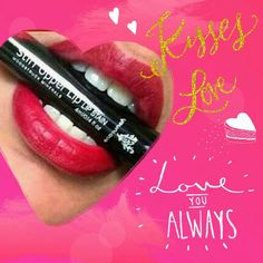 Lip stains are long lasting and always ready for a night full of kissing! #kisses #lips #longlasting #smudgeproof