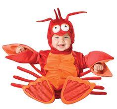 Lobster Costume Bunting Little Mermaid Sebastian Infant Toddler Baby 12 24 Mos | eBay