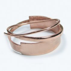 First look at #SS15 #Macha #jewelry #rosegold #cuff #instagram.  The Velocette Cuff