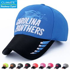 85a6b2ff7e1 USA National Football NFC League AFC South Super Bowl Carolina Team Fans  Adjustable Baseball Sport Caps Hat for Adult Men Women