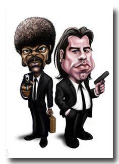 Vincent & Jules Pulp Fiction