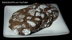 Fun Baking Recipes, Cookie Recipes, Yummy Recipes, Crackle Cookies, Baking Basics, Good Food, Yummy Food, Grilled Sandwich, Best Food Ever