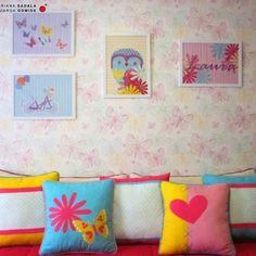 Crash de estampas e cores nesse quarto de criança! @minimobileatelie @fina.stampa #projetosadalagomide