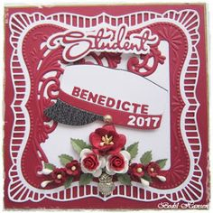 Bodil Hansen: Student Hobbies To Try, Cardmaking, Projects To Try, Student, Christmas Ornaments, Holiday Decor, Cards, Inspiration, Dame
