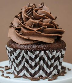 Triple Chocolate Cupcakes by Make Bake Celebrate