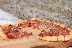 Gluten Free Pizza Crust - Pizza's back on the menu again, with this flavorful herb filled pizza crust.