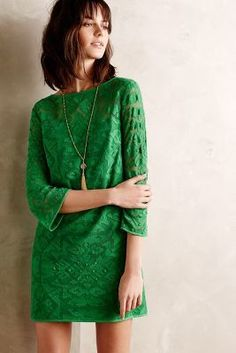 4.collective Gili Lace Shift #anthroregistry