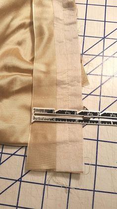 waistband with half interfaced