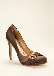 Bridesmaids shoes (2)  -with orange dress