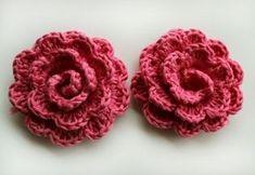 Gehaakte bloem tutorial ( vertaling in Nederlands is grappig)