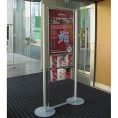 Brochure & Poster Stand at Milton Keynes Theatre - Theatre District. Used in their reception area to advertise upcoming events Brochure Stand, Acrylic Display Stands, Milton Keynes, Reception Areas, Upcoming Events, Carousel, Theatre, Literature, Poster