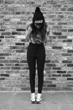 high waisted jeans | Tumblr