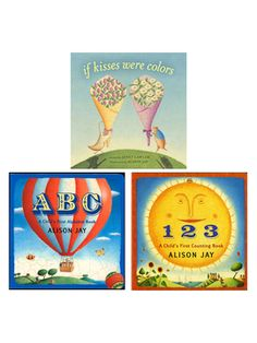 Alison Jay Board Book Bundle from Whiz Kids: Summer Activity Books on Gilt
